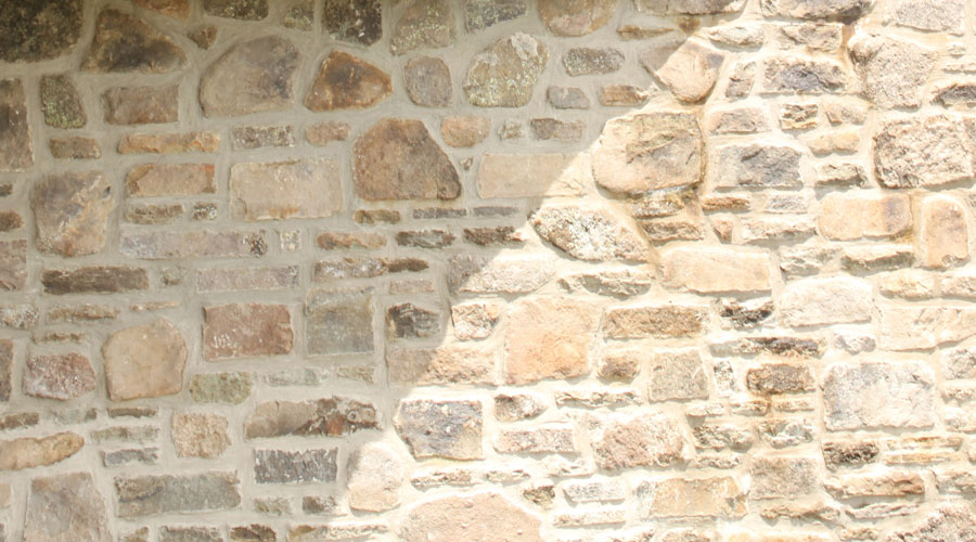 how to clean masonry or stonework